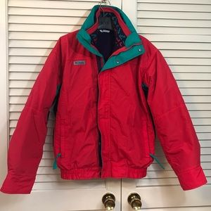 Columbia Bugaboo Radial sleeve 3 in 1 jacket 90's